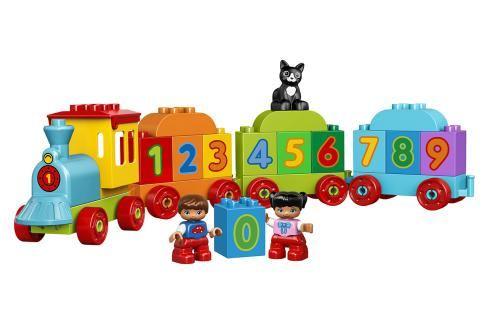 LEGO - Vláček S Čísly Duplo