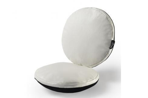 MIMA - Sada sedacích polštářů do židle Moon - bílá Sedací polštáře pro děti