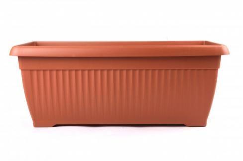 PROSPERPLAST - Plastový truhlík Terakota 60 cm Květináče