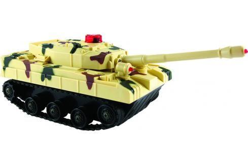 SMART KIDS - Bojový tank na dálkové ovládání se světlem a zvukem, 2 barvy RC tanky