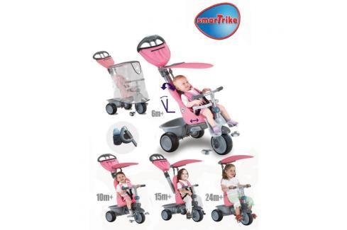SMART TRIKE - Recliner kočárek - růžový Tříkolky pro děti
