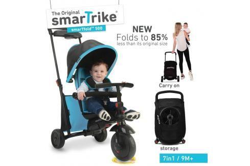 SMART TRIKE - tříkolka 500 Fold 7v1 Modrá Tříkolky pro děti