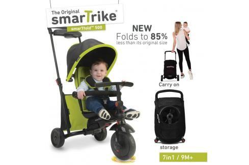 SMART TRIKE - tříkolka 500 Fold 7v1 Zelená Tříkolky pro děti