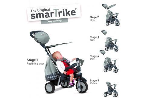 SMART TRIKE - tříkolka 680 Splash 5v1 Šedá Tříkolky pro děti