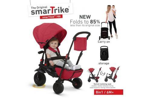 SMART TRIKE - tříkolka 700 Fold 8v1 Červená Tříkolky pro děti
