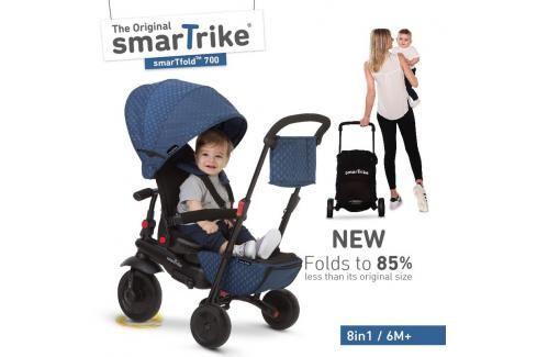 SMART TRIKE - tříkolka 700 Fold 8v1 Modrá Tříkolky pro děti