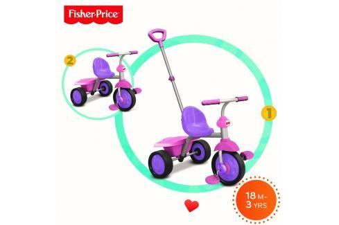 SMART TRIKE - tříkolka Fisher Price 335 Glee 2v1 Růžovo-fialová Tříkolky pro děti