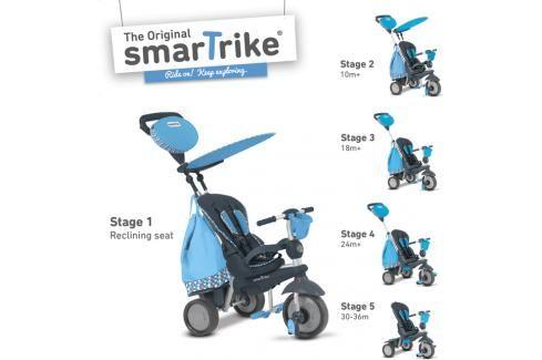 SMART TRIKE - Tříkolka Splash - Modrá Tříkolky pro děti