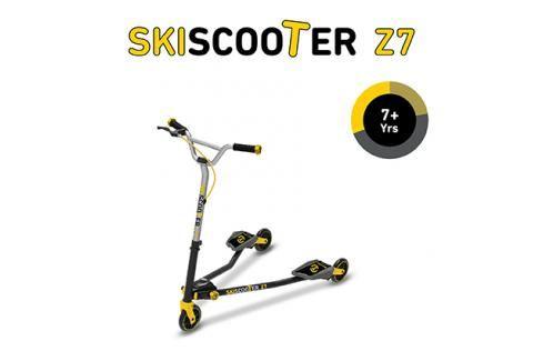 SMART-TRIKE - koloběžka 222 Ski Scooter Z7 žlutá Koloběžky