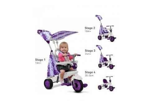 SMART-TRIKE - tříkolka 675 Spirit Touch Steering 4v1 Fialová Tříkolky pro děti