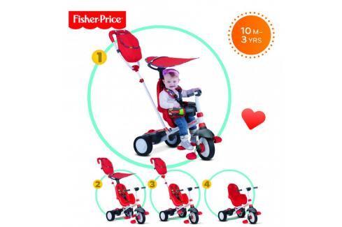SMART-TRIKE - tříkolka Fisher Price 320 Charisma 4v1 Červená Tříkolka pro děti