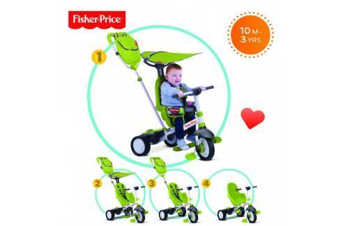 SMART-TRIKE - tříkolka Fisher Price 320 Charisma 4v1 Zelená Tříkolka pro děti