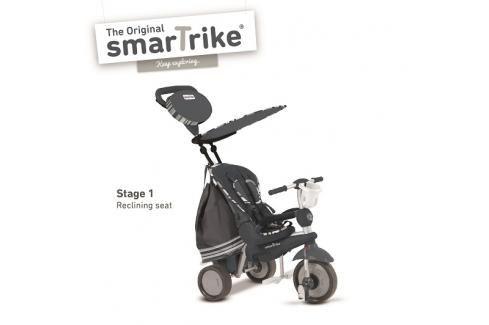 SMARTRIKE - Tříkolka Dazzle 5v1 antracitová 10m + Tříkolka pro děti