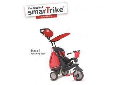 SMARTRIKE - Tříkolka Dazzle 5v1 červená 10m + Tříkolka pro děti