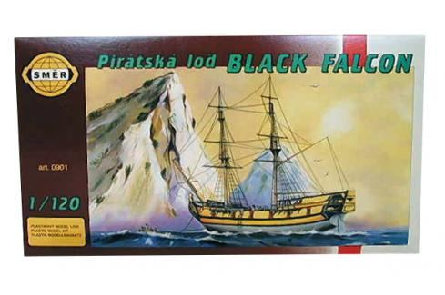 SMĚR - MODELY - Black Falcon 1: 120 Letadélka