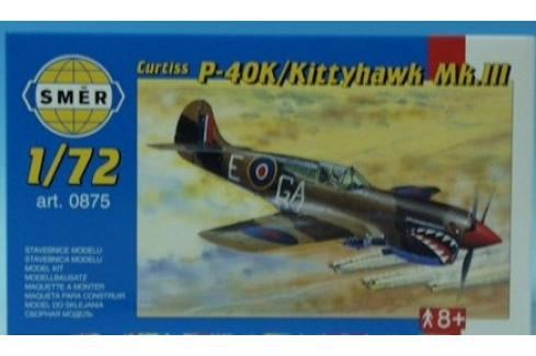 SMĚR - MODELY - Curtiss P - 40K 1:72 Letadélka