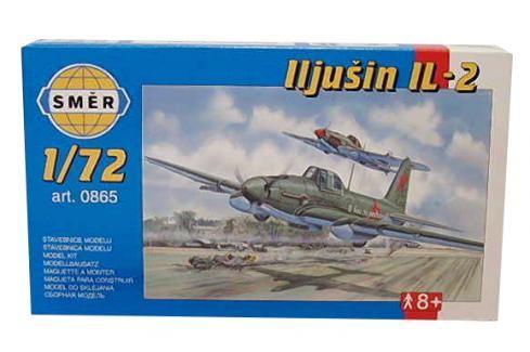 SMĚR - MODELY - Iljušin Il - 2 1:72 Letadélka