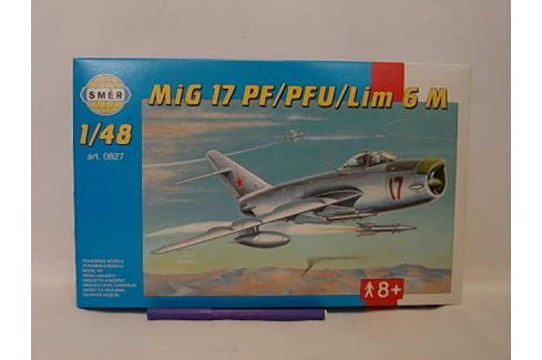SMĚR - MODELY - Mig 17 Pf / MFI 1:48 Letadélka