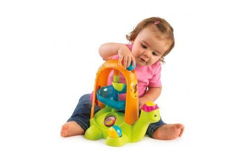 SMOBY - 110414 Cotoons Želva s míčky Hračky pro děti 0m+ až 9m+