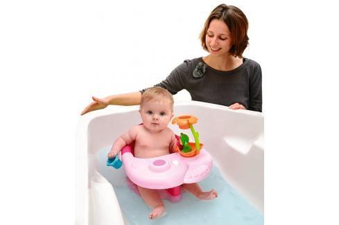SMOBY - 110616 Cotoons Sedátko do vany žabka růžové Sedadla do vaničky