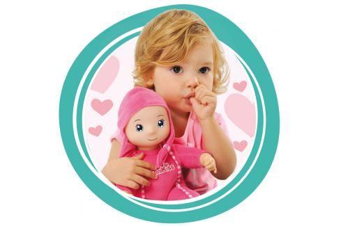 SMOBY - 210103 panenka Minikiss se zvukem růžová nebo modrá Klasické panenky