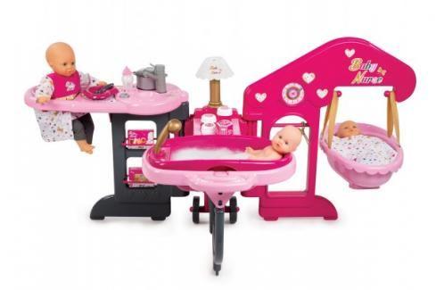 SMOBY - 220318 Baby Nurse Velký skládací domeček Péče o panenky