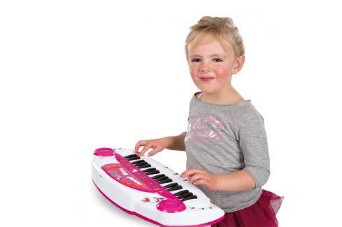 SMOBY - 27298 Elektronické piano Violetta Hudební hračky