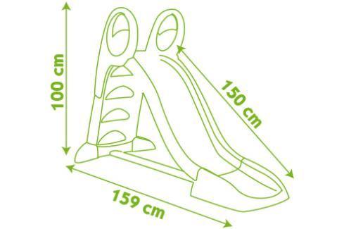 SMOBY - 310262 skluzavka 150 cm s vlhčením Dětská skluzavka