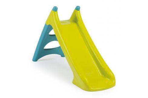 SMOBY - 310281 skluzavka XS90 zeleno-modrá s vlhčením new Ostatní hračky na zahradu