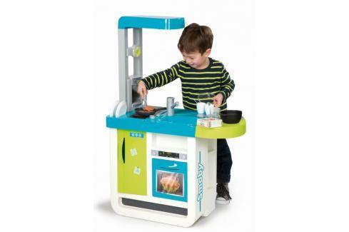 SMOBY - 310900 Kuchyňka Bon Apetit Chery elektronická modro-zelená Hrajeme se na profese