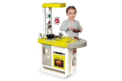 SMOBY - 310908 Kuchyňka Cherry elektronická zelená Hrajeme se na profese