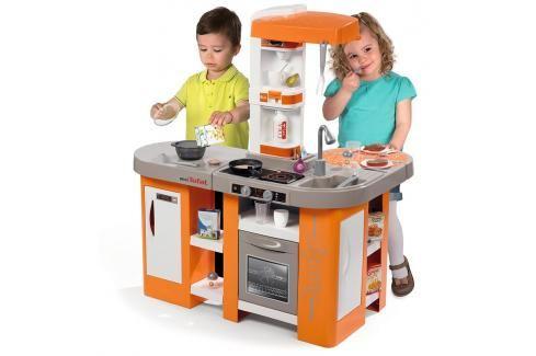 SMOBY - 311026 Kuchyňka Tefal Studio XL Bubble elektronická oranžová Hrajeme se na profese