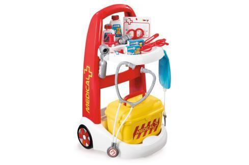 SMOBY - 340201 lékařský vozík Medical s kufříkem Hrajeme se na profese