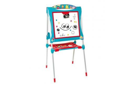 SMOBY - 410101 Magnetická oboustranná tabule Ultimate modrá Hrajeme se na profese