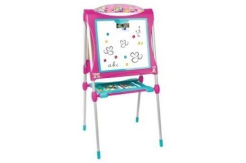 SMOBY - 410102 Magnetická oboustranná tabule Ultimate růžová Hrajeme se na profese