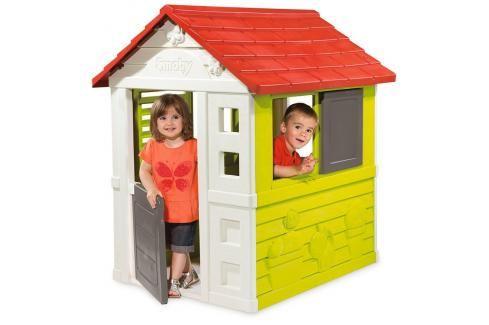 SMOBY - 810704 Domeček Nature Plastové domčeky pre deti