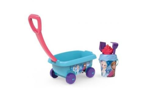 SMOBY - 867001 Vozík se soupravou do písku Frozen Hračky do pieskoviska