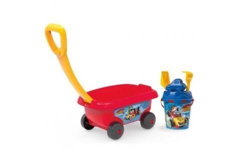 SMOBY - 867003 Vozík se soupravou do písku Mickey Hračky do pieskoviska
