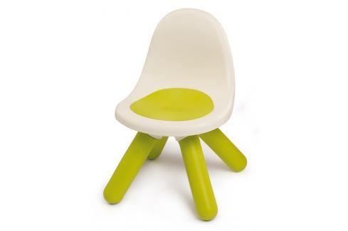 SMOBY - 880101 Židle pro děti Kid Chair zelená Ostatní hračky na zahradu