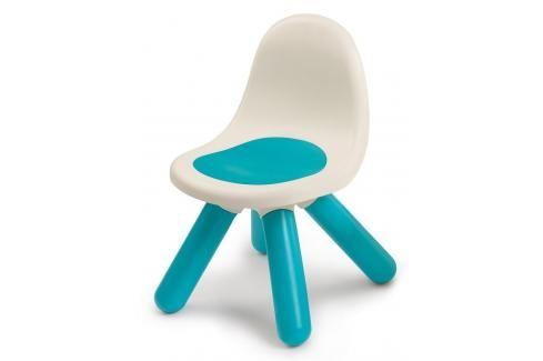 SMOBY - 880102 Židle pro děti Kid Chair modrá Ostatní hračky na zahradu