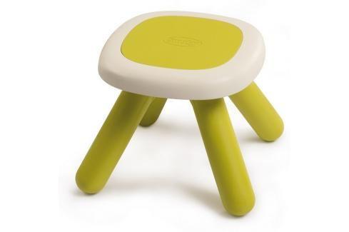 SMOBY - 880201 Taburetka pro děti Kid Chair zelená Ostatní hračky na zahradu