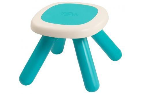 SMOBY - 880202 Taburetka pro děti Kid Chair modrá Ostatní hračky na zahradu
