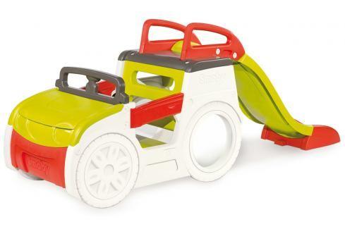 SMOBY - Auto pískoviště se skluzavkou 150 cm Ostatní hračky na zahradu
