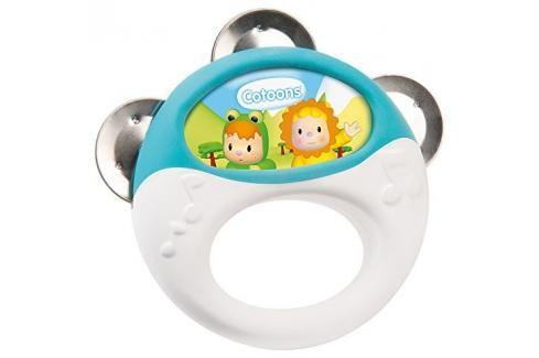 SMOBY - Cotoons 110505 Tamburína Zvukové a svítící hračky