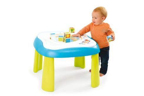 SMOBY - Cotoons 110200 Multifunkční didaktický stoleček Youp Naučné hračky