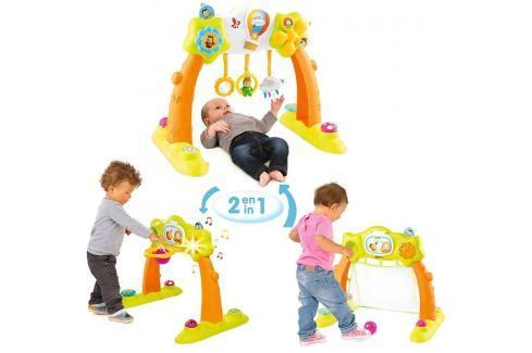 SMOBY - Cotoons 110221 Elektronická hrazdička Arche 2v1 Hračky pro děti 0m+ až 9m+