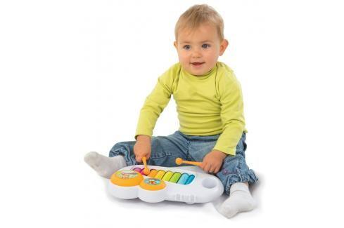 SMOBY - Cotoons 110500 Xylofon bílý Naučné hračky
