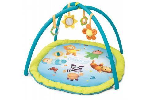 SMOBY - Cotoons Hrací podložka Activity s hrazdou, modrá Hračky pro děti 0m+ až 9m+