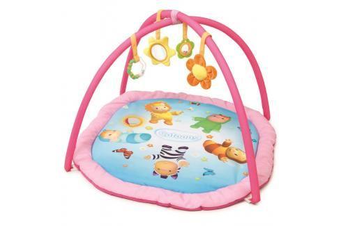 SMOBY - Cotoons Hrací podložka Activity s hrazdou, růžová Hračky pro děti 0m+ až 9m+