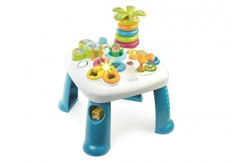 SMOBY - Cotoons Multifunkční Hrací Stůl Modrý Naučné hračky